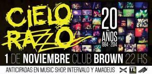Club Brown 01 nov 14