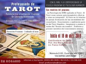 Profesorado de Tarot 18 abr 15