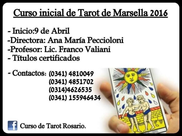 Curso de Tarot 09 abr 16