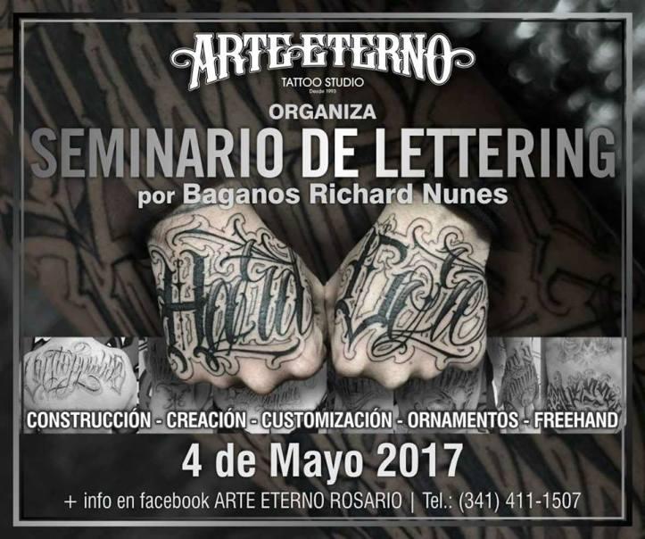 Seminario de Lettering 04 may 17
