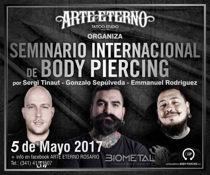 Seminario de Piercing 05 may 17.
