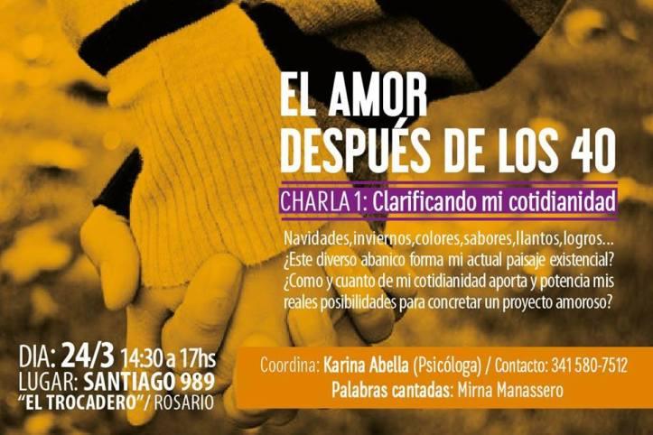 1 - Clarificando mi cotidianidad - Rosario