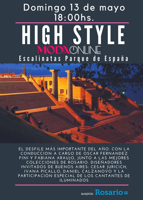 Escalinatas del Parque de España 06 may 18 flyer